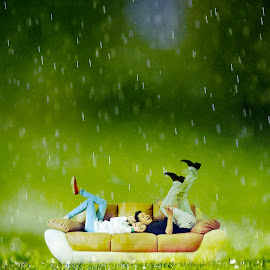 Rainy by Andre Detrix Pearce - Digital Art People