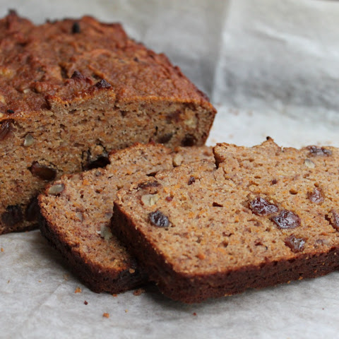 Pumpkin Banana Raisin Bread (with coconut flour)