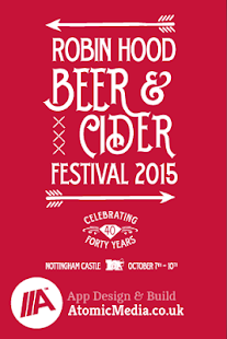 Robin Hood Beer Festival 2015 - screenshot