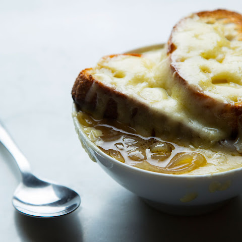 Slow Cooker Double French Onion Soup