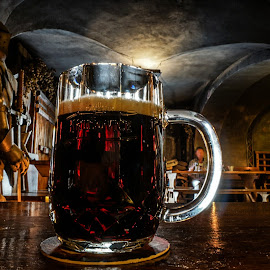 Dark beer by Adam Lang - Food & Drink Alcohol & Drinks ( lager, alcohol, dark, cave, dark beer )
