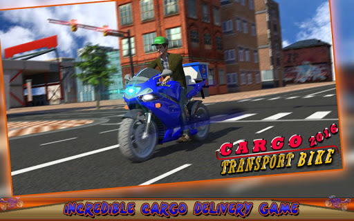 Cargo Transport Bike 2016 - screenshot