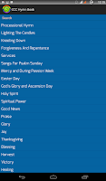 Screenshot of English CCC Hymn Book
