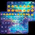 Star Galaxy Emoji Keybaord APK for Bluestacks