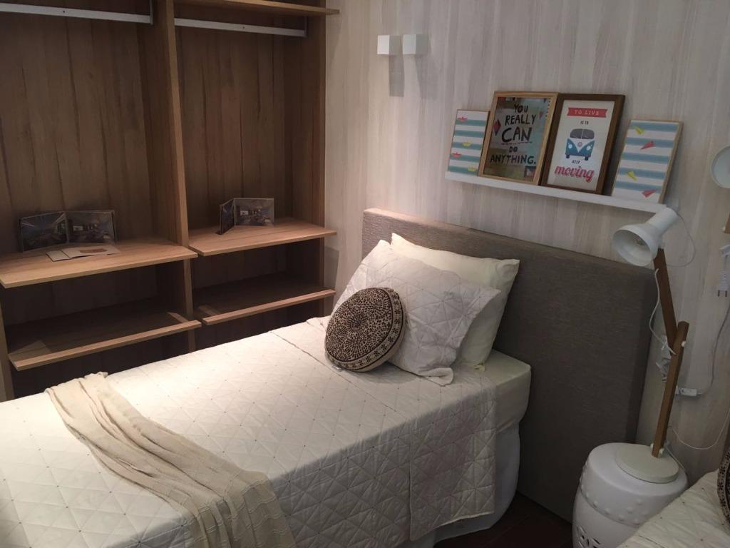 Apartamento de 2 dormitórios em Boqueirão, Praia Grande - SP