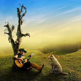 This Ain't a Love Song by Ketut Manik - People Musicians & Entertainers