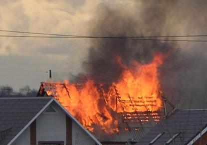 На Полтавщині під час пожежі загинув чоловік