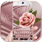 Theme Rose Gold for Keyboard Icon