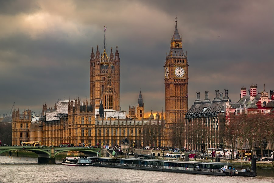 English sight by Raceala Andrei - City,  Street & Park  Historic Districts ( london, big ben, passion, photography, street photography )