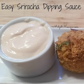 Easy Sriracha Dipping Sauce