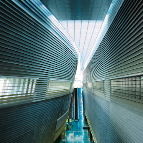 Stadium station in SG by Terence Lim - Buildings & Architecture Other Interior ( architecture, curves )