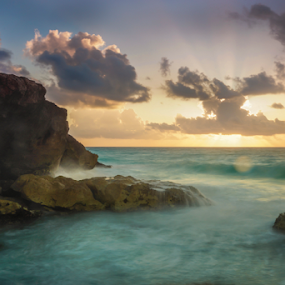 Sea shore at Caribbean Sea by Cristobal Garciaferro Rubio - Landscapes Travel