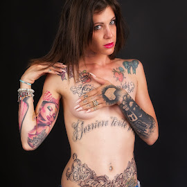 Tanya by Patrice Champey - People Body Art/Tattoos