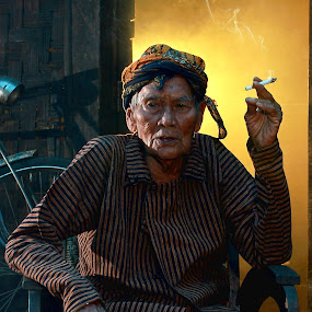 in my older times... by Baron Danardono Wibowo - People Portraits of Men
