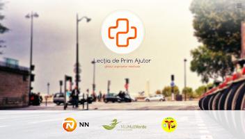 Screenshot of Lectia de Prim Ajutor