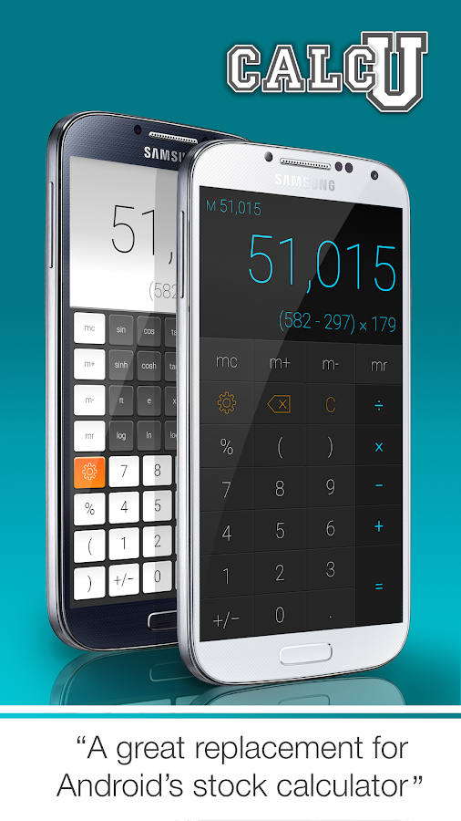 CALCU™ Stylish Calculator Free Screenshot 1