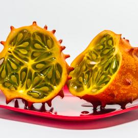 by Myra Brizendine Wilson - Food & Drink Fruits & Vegetables ( fruit, food, glassware, food photography,  )