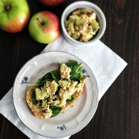 Curried Apple Tuna Salad