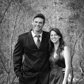 Connor  and Raven by Jessica Hill - People Couples