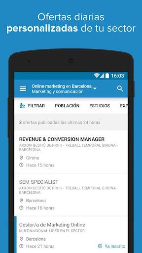 InfoJobs - Job Search screenshot 3