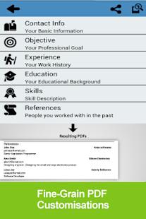 app resume builder free apk for kindle