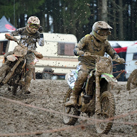Motocross 7 by Marco Bertamé - Sports & Fitness Motorsports ( bike, rainy, motocross, sludge, weather, chase, pursuit, competition )