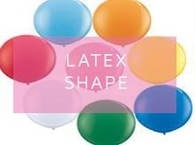 Latex Shape Balloons | UK Balloon Artists - Top Balloon UK