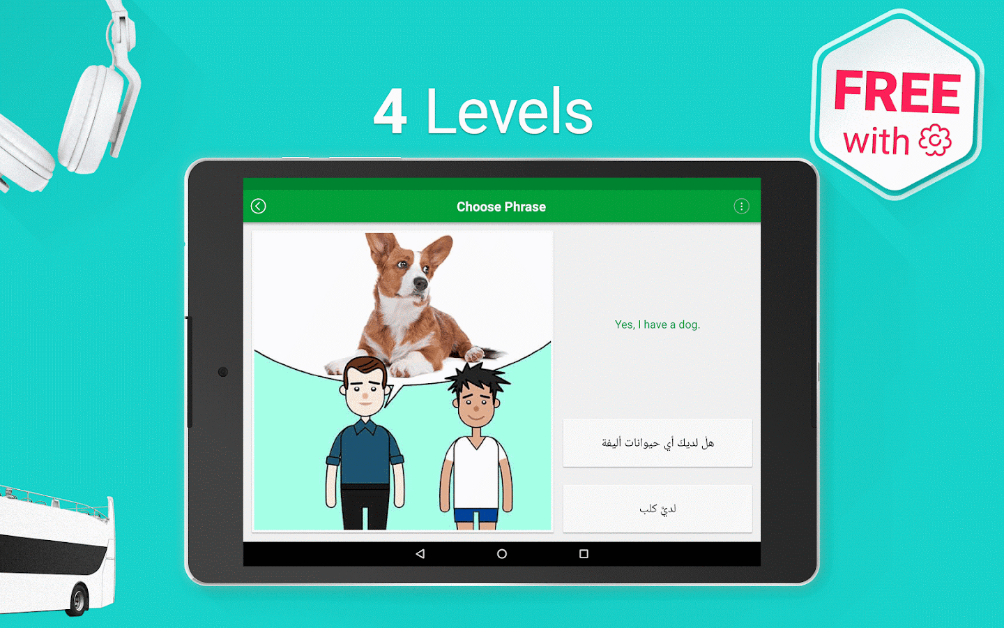 Learn Arabic - 5000 Phrases Screenshot 10