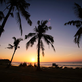 Sunset at Balangan Beach by Rah Juan - Landscapes Beaches ( bali, sunset, beach, travel, landscape, , relax, tranquil, relaxing, tranquility )