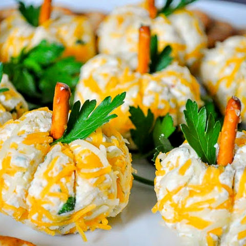 Pumpkin Mini Cheese Balls