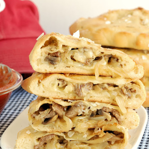 Philly Cheesesteak Calzone