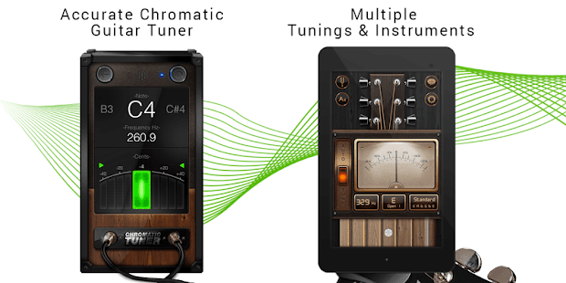 App Chromatic Guitar Tuner Free: Ukulele, Bass, Violin APK for Kindle