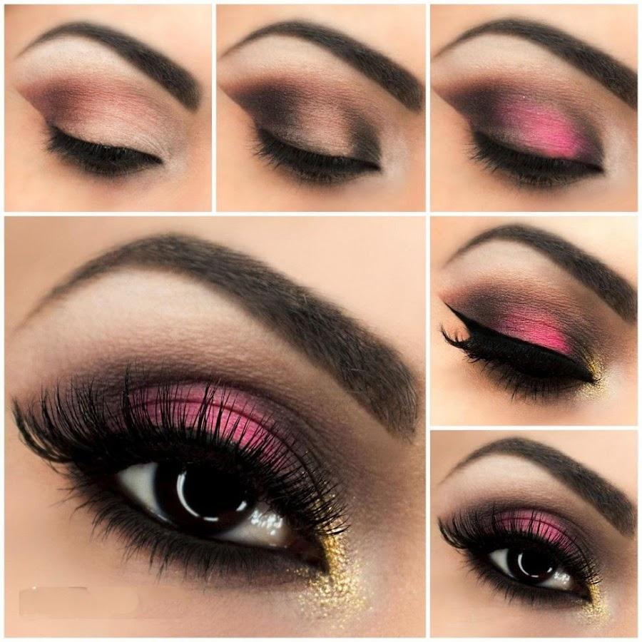 Идеи макияжа для глаз поэтапное фото