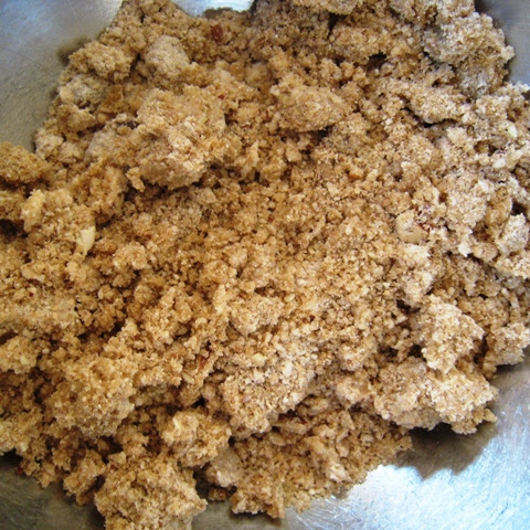 My Mom's Basic Nutty Streusel Topping