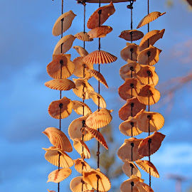 Shell Wind Chimes by Jeannine Jones - Artistic Objects Other Objects