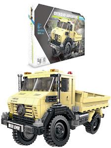 """Конструктор серии """"BrickBattle"""", грузовик 4x4, песочный"""