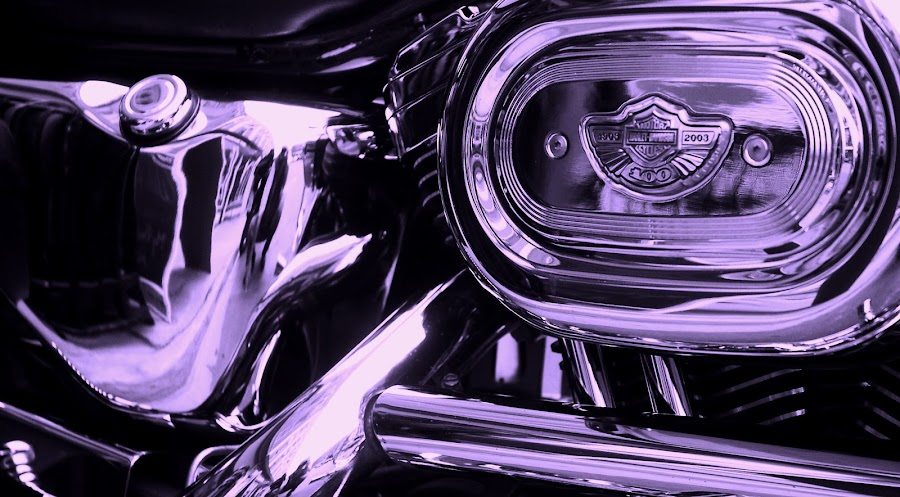HAWG! by Steve Cooper - Products & Objects Technology Objects ( chrome, motorcycle, beauty, pipes, reflective )