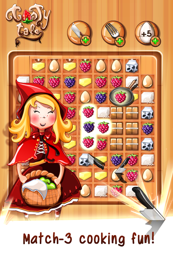 Tasty Tale:puzzle cooking game Screenshot 0