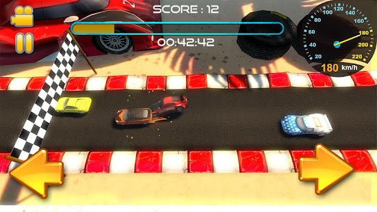 Car Wars Mini Racing 3D - screenshot