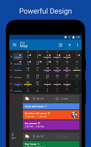 DigiCal+ Calendar screenshot 1