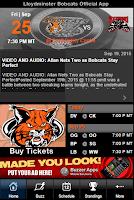 Screenshot of Lloydminster Bobcats Official