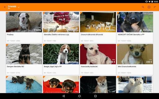 Bazos Browser - screenshot
