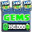 Gems & Chest for Clash Royale New