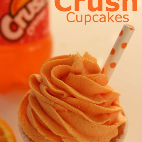 Orange Crush Cupcakes