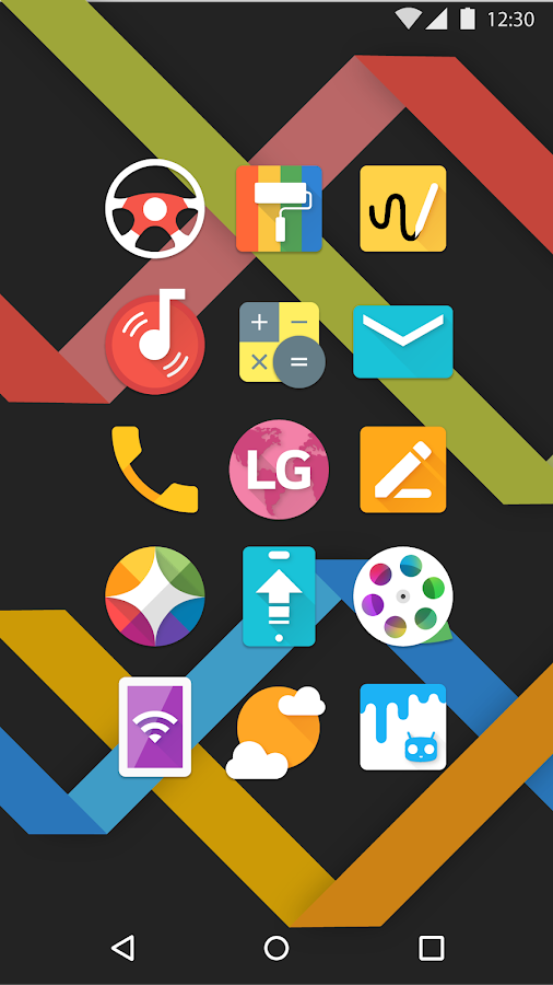 Mate UI - Material Icon Pack Screenshot 2