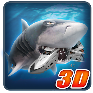 Ancient Shark Megalodon 3D unlimted resources