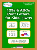 Screenshot of 123 ABC Kids Handwriting HWTP