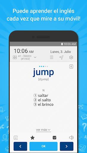 WordBit Inglés [Lockscreen] screenshot 2