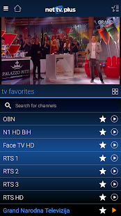 3 NetTV Plus App screenshot