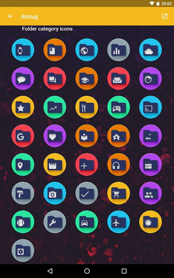 Almug - Icon Pack Screenshot 10